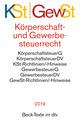 Körperschaftsteuerrecht, KSt/Gewerbesteuerrecht, GewSt