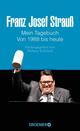 Franz Josef Strauß - Mein Tagebuch - Von 1988 bis heute