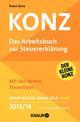 Konz - Das Arbeitsbuch zur Steuererklärung 2013/2014