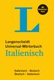 Langenscheidt Universal-Wörterbuch Italienisch - mit Bildwörterbuch