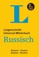 Langenscheidt Universal-Wörterbuch Russisch - mit Tipps für die Reise