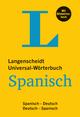Langenscheidt Universal-Wörterbuch Spanisch - mit Bildwörterbuch