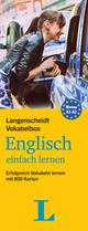 Langenscheidt Vokabelbox Englisch einfach lernen - Box mit Karteikarten