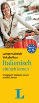 Langenscheidt Vokabelbox Italienisch einfach lernen - Box mit Karteikarten
