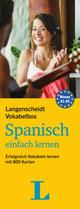 Langenscheidt Vokabelbox Spanisch einfach lernen - Box mit Karteikarten
