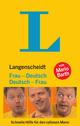 Langenscheidt Frau-Deutsch/Deutsch-Frau