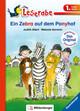 Ein Zebra auf dem Ponyhof