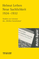 Neue Sachlichkeit 1924-1932