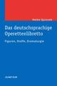 Das deutschsprachige Operettenlibretto