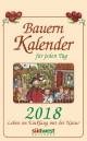 Bauernkalender für jeden Tag 2018