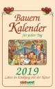 Bauernkalender für jeden Tag 2019