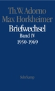 Briefwechsel 1950-1969