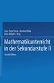 Mathematikunterricht in der Sekundarstufe II, Bd 1