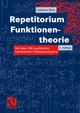 Repetitorium Funktionentheorie