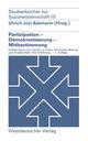 Partizipation - Demokratisierung - Mitbestimmung