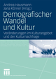 Demografischer Wandel und Kultur