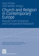 Church and Religion in Contemporary Europe