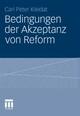 Bedingungen der Akzeptanz von Reform