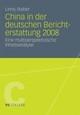 China in der deutschen Berichterstattung 2008
