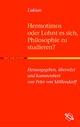 Hermotimos oder Lohnt es sich Philosophie zu studieren?