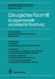105. Kongreß der Deutschen Gesellschaft für Chirurgie München, 6.-9. April 1988