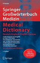 Springer Großwörterbuch Medizin Medical Dictionary Deutsch-Englisch English-German
