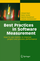Best Practices in Software Measurement