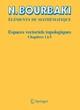 Espaces vectoriels topologiques