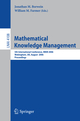 Mathematical Knowledge Management
