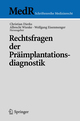 Rechtsfragen der Präimplantationsdiagnostik