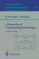 A Perspective of Constraint-Based Reasoning