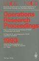 Operations Research Proceedings 1993