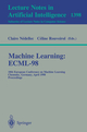 Machine Learning: ECML-98