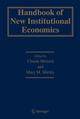 Handbook of New Institutional Economics