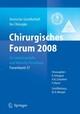 Chirurgisches Forum 2008