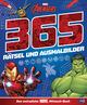 MARVEL Avengers 365 Rätsel und Ausmalbilder - Das extradicke MARVEL-Mitmach-Buch