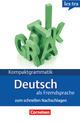 Kompaktgrammatik Deutsch als Fremdsprache zum schnellen Nachschlagen