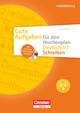 Gute Aufgaben für den Wochenplan - Deutsch: Schreiben 1/2