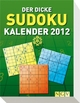Der dicke Sudoku Kalender 2012