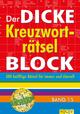 Der dicke Kreuzworträtsel-Block 15