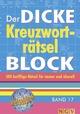 Der dicke Kreuzworträtsel-Block 17