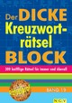 Der dicke Kreuzworträtsel-Block 19