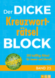 Der dicke Kreuzworträtsel-Block 25