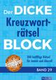 Der dicke Kreuzworträtsel-Block 29