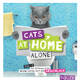Cats at home alone - Das Geschenkbuch für Katzenliebhaber