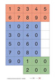 Zahlenzauber - Beilagen zu den Ausgaben E, F,G, H und M