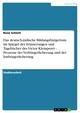 Das deutsch-jüdische Bildungsbürgertum im Spiegel der Erinnerungen und Tagebücher des Victor Klemperer - Prozesse der Verbürgerlicherung und der Entbürgerlicherung