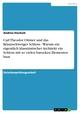 Carl Theodor Ottmer und das Braunschweiger Schloss - Warum ein eigentlich klassizistischer Architekt ein Schloss mit so vielen barocken Elementen baut