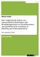 Eine vergleichende Analyse von unterrichtlichen Belastungen und Bewältigungsweisen von Sportlehrerinnen und Sportlehrern an Gymnasien in Hamburg und Schleswig-Holstein