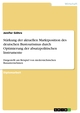 Stärkung der aktuellen Marktposition des deutschen Bustourismus durch Optimierung der absatzpolitischen Instrumente